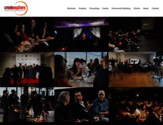 createasphere.com screenshot