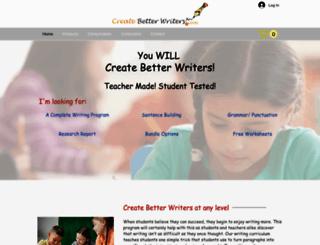 createbetterwriters.com screenshot