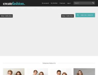 createfashion.com.au screenshot