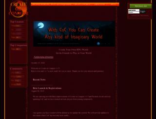 createorconquer.com screenshot