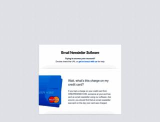 createsend.com screenshot