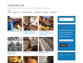 createthelook.wordpress.com screenshot