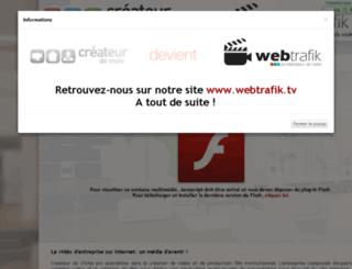 createurdevisite.com screenshot