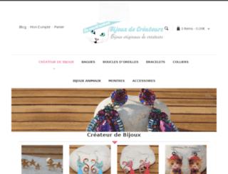 createurs-de-bijoux.com screenshot