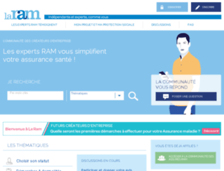 createurs.laram.fr screenshot