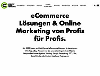 createyourtemplate.com screenshot