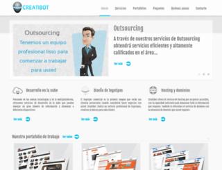 creatibot.com screenshot
