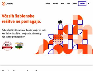 creatim.com screenshot