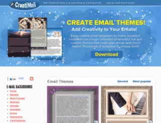 creatimail.com screenshot