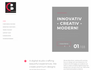 creatingbusiness.de screenshot
