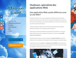 creation-oueb.fr screenshot