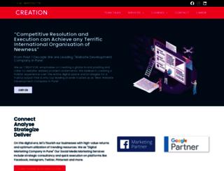 creationinfotech.com screenshot