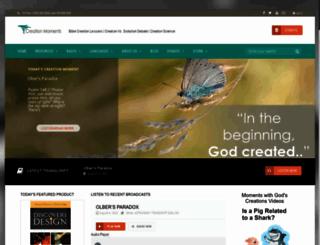 creationmoments.com screenshot