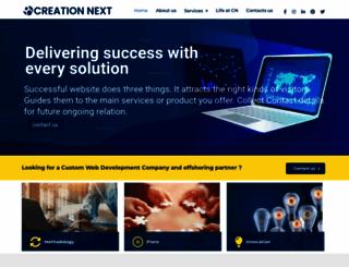 creationnext.com screenshot