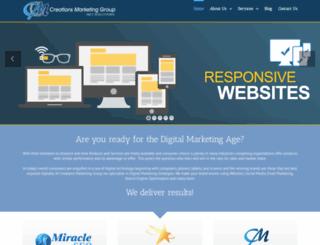 creationsmarketing.com.au screenshot