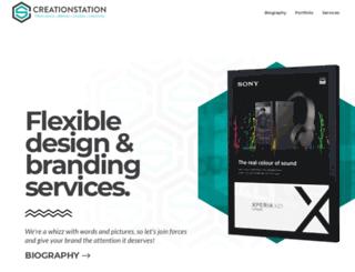 creationstation.co.uk screenshot