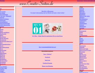 creativ-seiten.de screenshot
