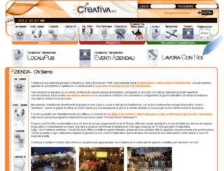 creativasrl.com screenshot