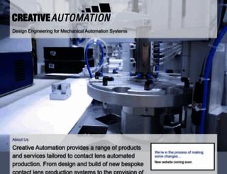creative-automation.co.uk screenshot