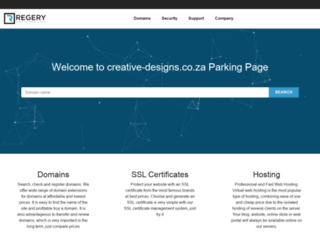 creative-designs.co.za screenshot