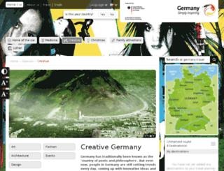creative-germany.travel screenshot
