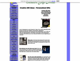 creative-gift-ideas.com screenshot