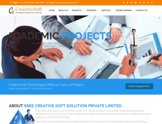 creative-soft.co.in screenshot