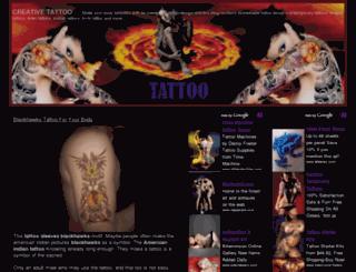 creative-tattoo.com screenshot