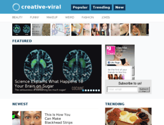 creative-viral.com screenshot