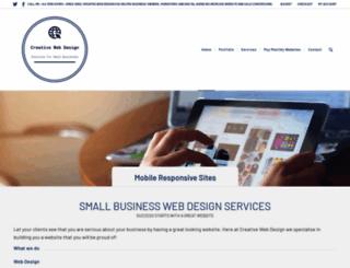 creative-webs.co.uk screenshot