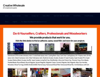 creative-wholesale.com screenshot