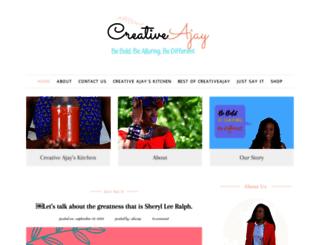 creativeajay.com screenshot