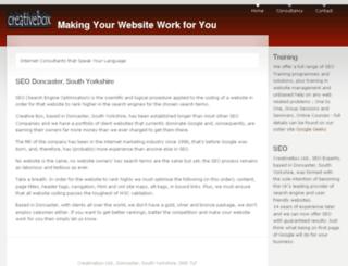 creativebox.ltd.uk screenshot