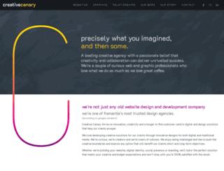 creativecanary.com.au screenshot