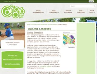 creativecarrboro.com screenshot