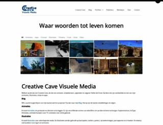 creativecave.com screenshot