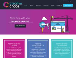 creativechaos.com.au screenshot