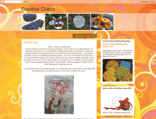creativechaosnz.blogspot.co.nz screenshot