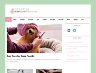 creativechristianmama.com screenshot
