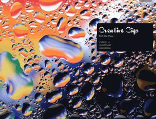 creativecigs.com screenshot