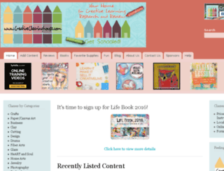 creativeclearinghouse.com screenshot