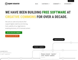 creativecommons.github.io screenshot
