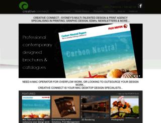 creativeconnect.com.au screenshot