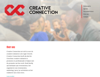 creativeconnection.nl screenshot