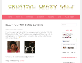 creativecrazygals.wordpress.com screenshot