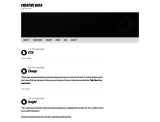 creativedataprojects.com screenshot