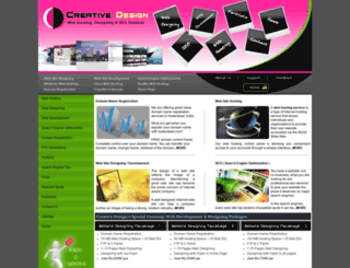 creativedesign.co.in screenshot