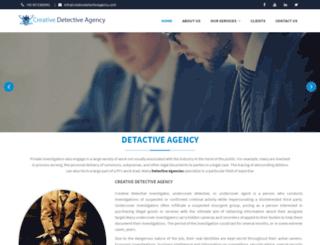 creativedetectiveagency.com screenshot