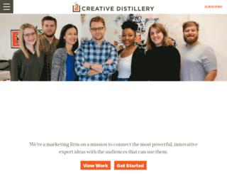 creativedistillery.com screenshot