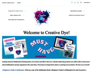 creativedye.com screenshot